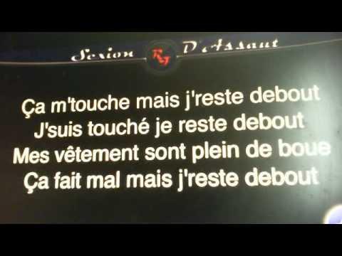 Sexion D'assault Reste debout,Lyrics