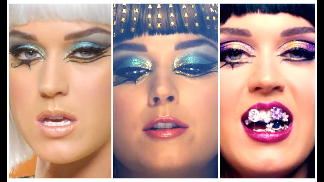A Wearable Version Of Katy Perry Dark Horse Look ... |Katy Perry Dark Horse Makeup