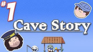 Cave Story: It Starts in a Cave - PART 1 - Steam Train