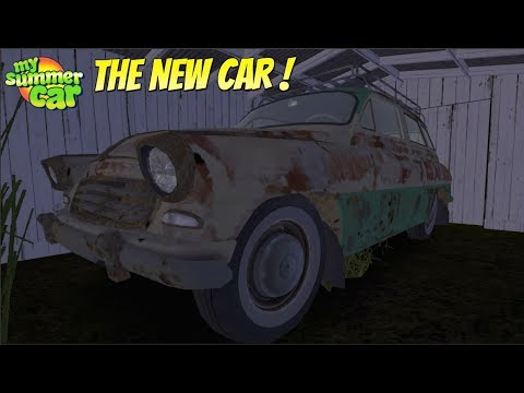 ⚠️ MY SUMMER CAR - THE NEW CAR IS HERE !