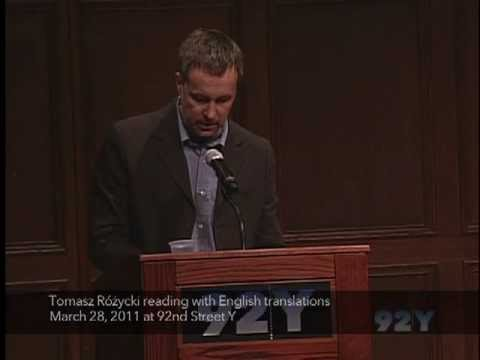 From the Poetry Center Archives: Tomasz Różycki