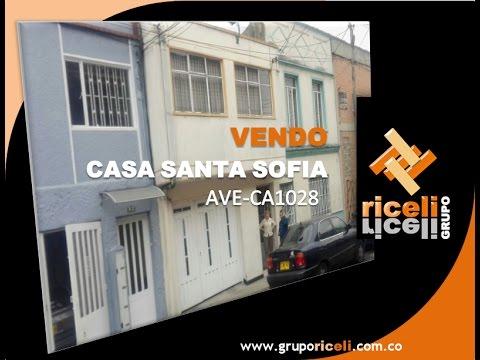 VENDE CASA SANTA SOFIA - AVE-CA1028