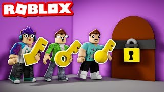 ONLY ONE OF 9999 KEYS OPENS THIS DOOR! (Roblox House of Keys)