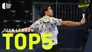 #Top5 Puntazos Juan Lebrón 2020 | World Padel Tour