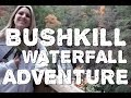 Hiking Bushkill Falls in the Pocono Mountains