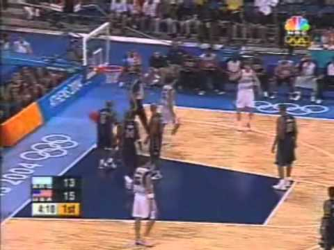 Manu Ginobili 29points vs. USA 2004 Olympics