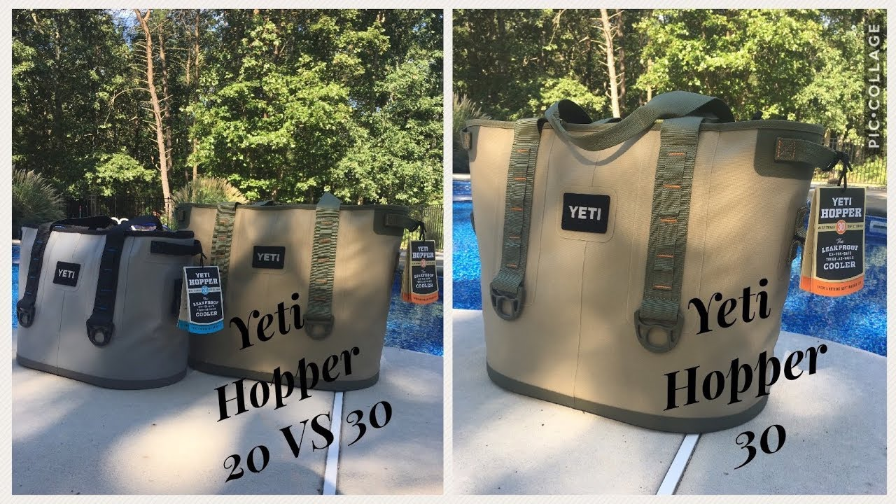 Yeti Hopper 30 review and comparison to Yeti Hopper 20 - YouTube