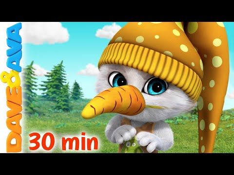 Row Row Row Your Boat & More Nursery Rhymes | Baby Songs by Dave and Ava