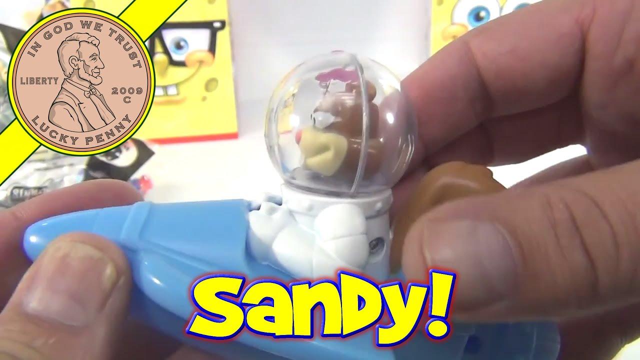 SpongeBob SquarePants 15 Sandy Boat 2012 McDonald s Happy Meal