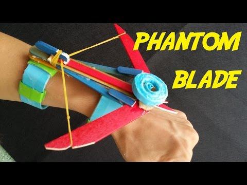 How to make the Phantom Blade (Assassins Creed)   wrist Crossbow