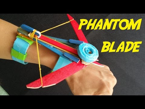 how to make a paper slingshot very simple and strong