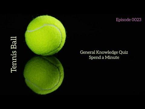 Tennis Ball - General Knowledge Quiz - 0023