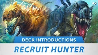 Recruit Hunter | Hearthstone Deck Introduction | [Witchwood]