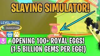 Roblox | Abrindo mais de 100 dos ovos TOP em simulador de assassinato!