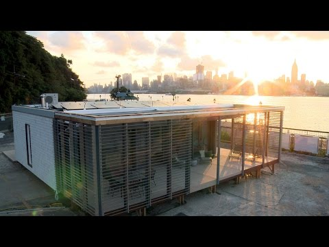 Stevens Institute of Technology: The SURE House - 2015 Solar Decathlon Entry