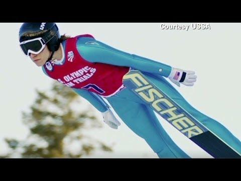 Women ski jump into Olympics' history