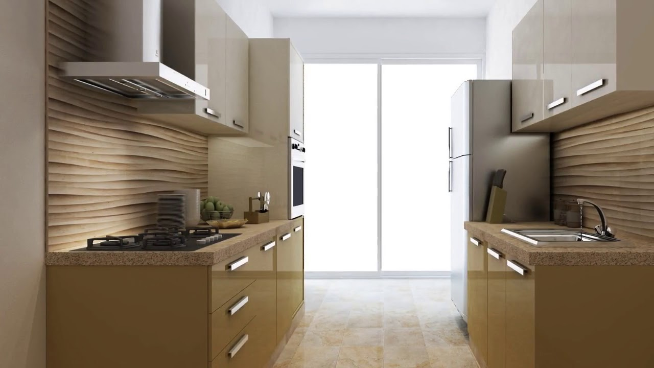 Parallel Modular Kitchen Designs In India Youtube
