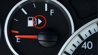 Para esto sirve la pequeña FLECHA en el indicador del nivel de combustible