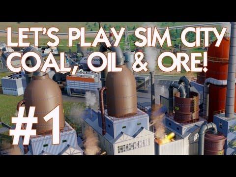 SimCity 5 Coal, Oil & Ore! #1