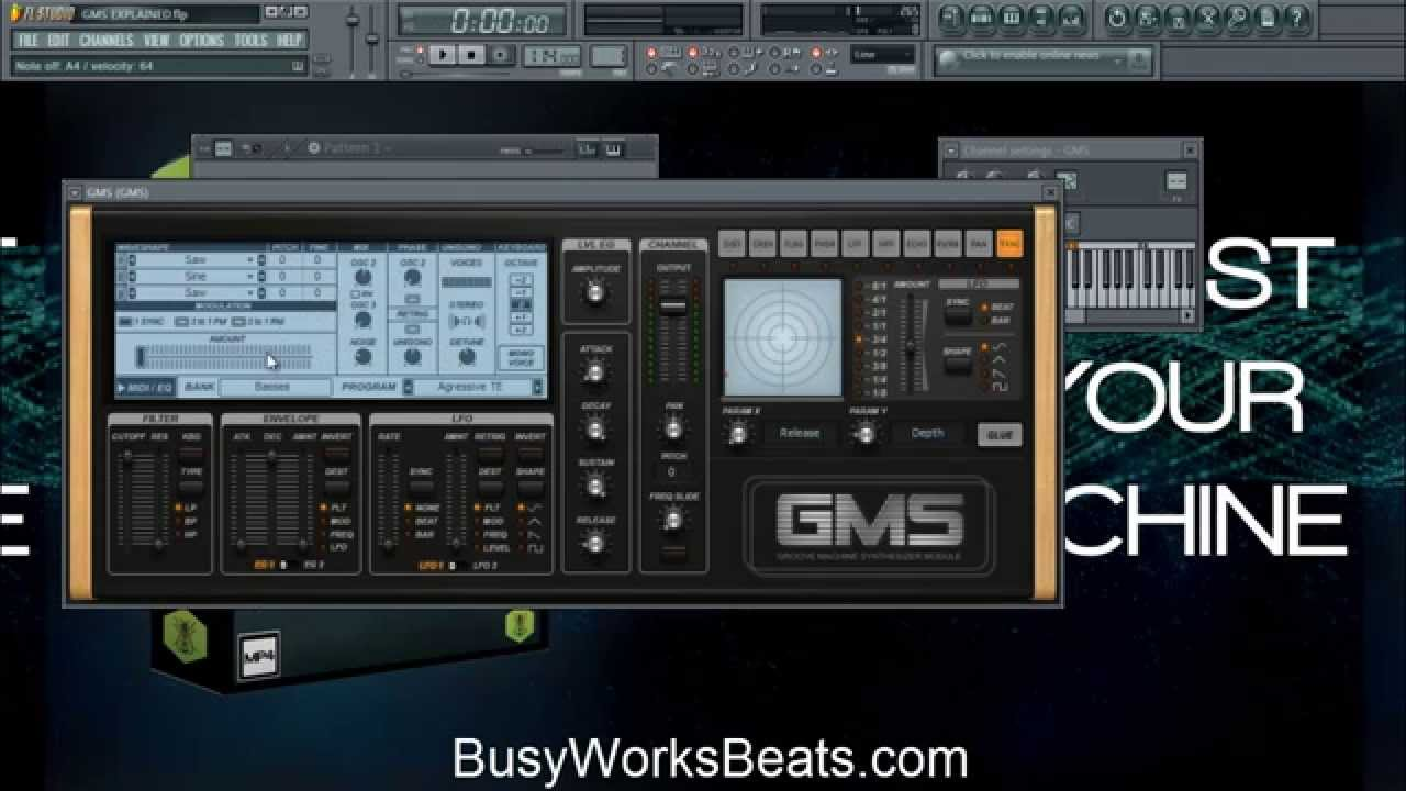 FL Studio-GMS Made Easy Sound Design Part 1