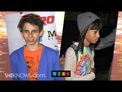 Willow Smith's Parents Aren't Concerned about Picture with Moises Arias - The Buzz