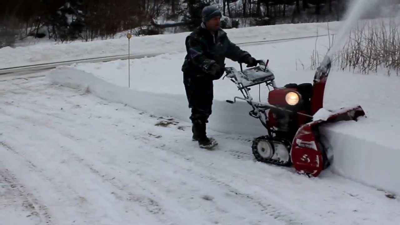 youtube overview watch snow and blowers honda