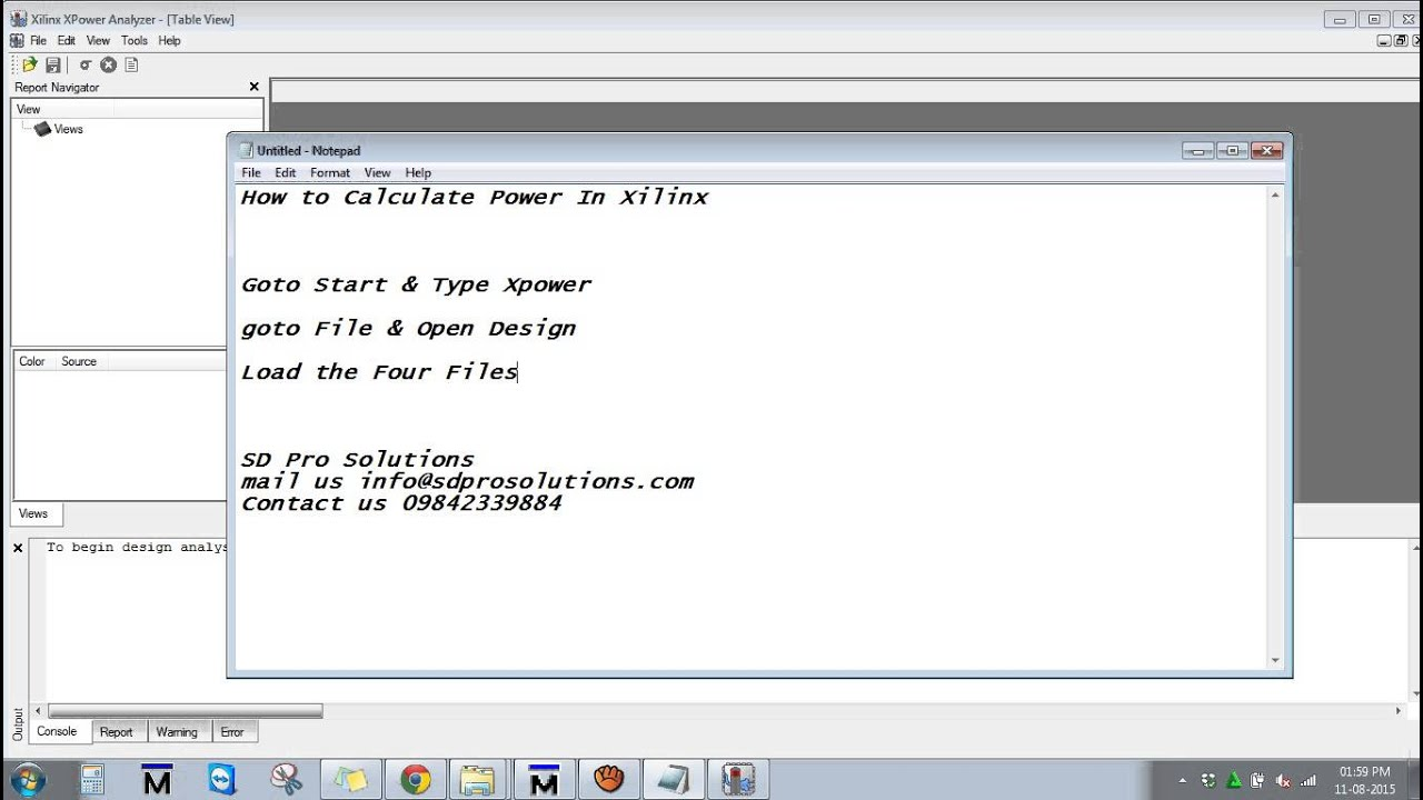 How to calculate Power In Xilinx ISE ||ieee vlsi projects at bangalore