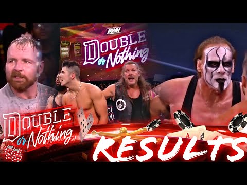 AEW Double Or Nothing 2021 Full Results