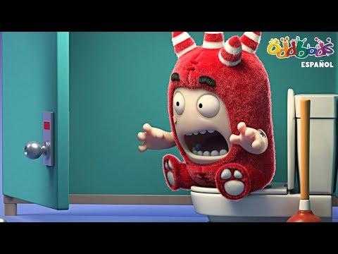 Oddbods | Problemas de Inodoro | Dibujos Animados Graciosos Para Niños