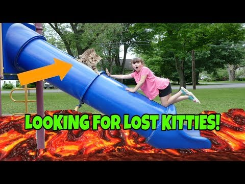 Searching For Lost Kitties At The Playground! Giveaway Entry Video!! thumbnail