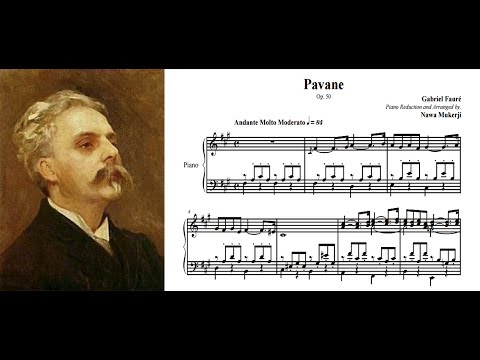 Gabriel Fauré plays his Pavane Op 50