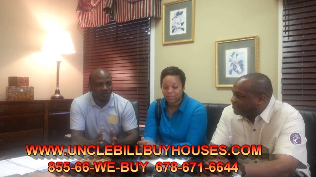 Uncle Bill Buy Houses Cash - We Buy Houses Atlanta / Sell Your House Fast Atlanta