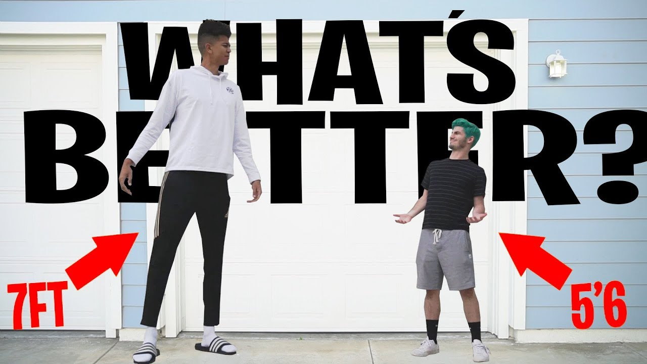 Things I Would Do If I Was 6 Foot 10 Inches Tall Youtube