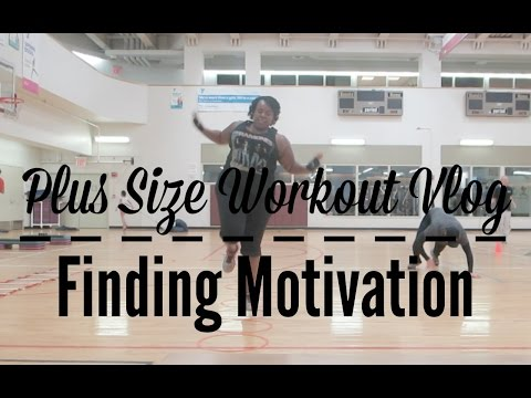 Plus Size Workout Vlog: Finding My Motivation | Weight Loss | Fitness