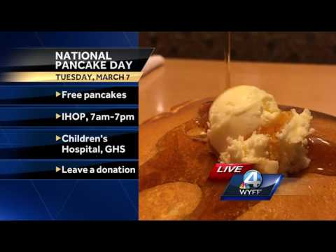 Just 4 Today: IHOP uses National Pancake Day to raise money for Children's Miracle Network hospitals