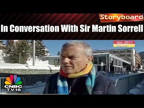 Storyboard: In conversation with Sir Martin Sorrell | CNBC TV18