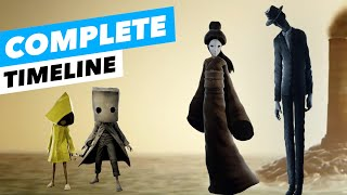 Little Nightmares Full TIMELINE STORY EXPLAINED