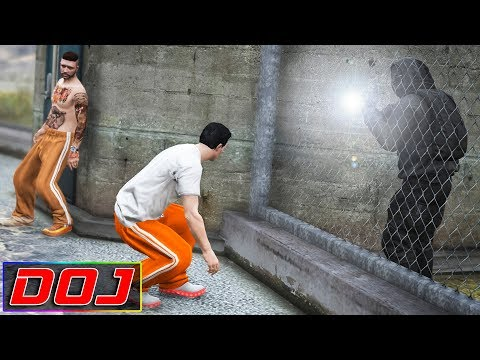 Prison Escape | GTA 5 Roleplay | DOJ #121