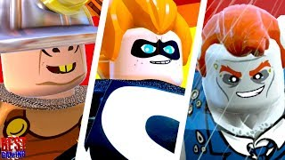LEGO The Incredibles Walkthrough - All Bosses