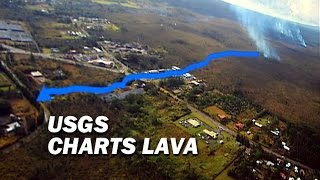 Usgs Charts Lava Flow (dec. 18 Presentation In Pahoa)