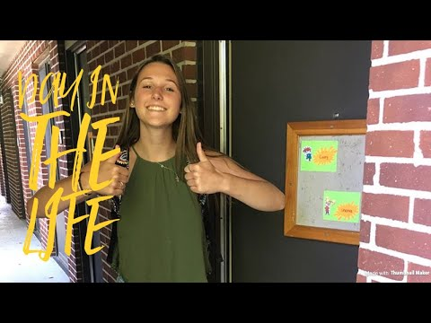 A DAY IN THE LIFE OF A COLLEGE STUDENT || Salisbury University