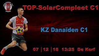 TOP C1 tegen KZ Danaiden C1 op zaterdag 7 december 2019