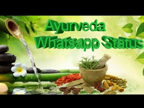 Ayurveda New Whatsapp Status || Ayurveda Prayer Whatsapp Status