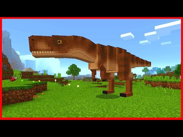 как сделать динозавра в майнкрафте без модов #8