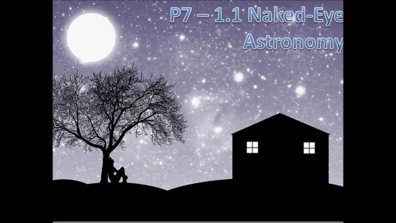 Astronomy Tutorial Naked Eye