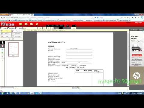 HOW TO PDF FILE EDIT ONLINE FREE