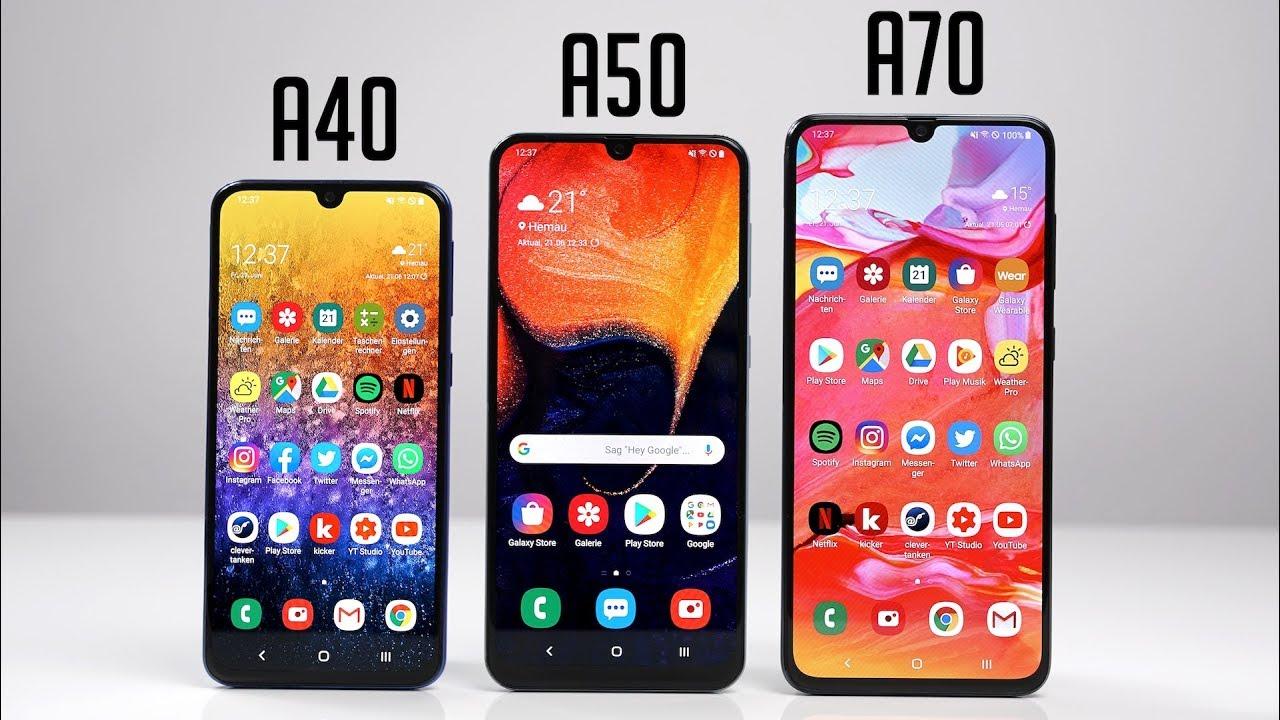 Samsung Galaxy A40 vs Samsung Galaxy A50