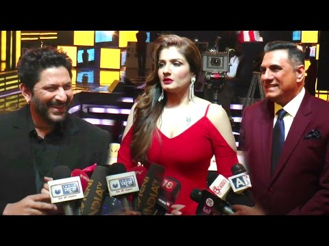 Raveena Tandon's FUNNY Interview With Arshad Warsi & Boman Irani On Sabse Bada Kalaakaar Sets