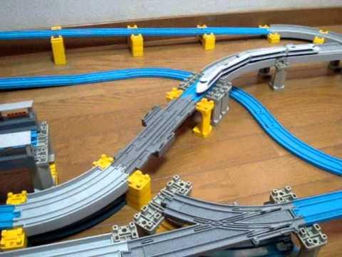 プラレールアドバンス ストップレールのリレーラー効果 Plarail Advance