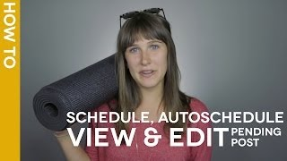#HootTip: How to Schedule, AutoSchedule, View and Edit a Pending Post